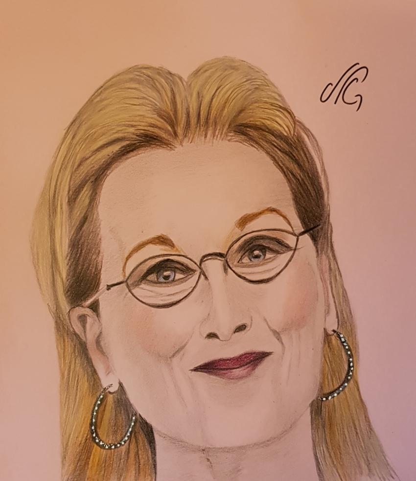 Meryl Streep by Nicky08